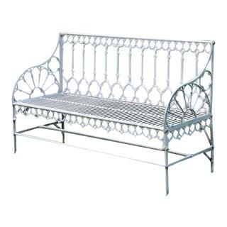 Gothic garden bench