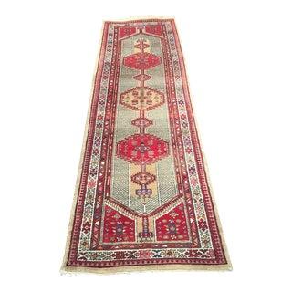 Antique Persian Runner - 3′3″ × 11′1″
