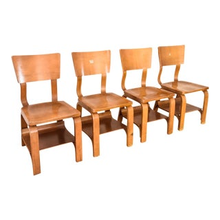 Thonet Mid-Century Child-Sized Bentwood Chairs - Set of 4