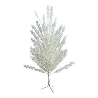 1960's Vintage Mid-Century Modern 6 Foot Aluminum Christmas Tree