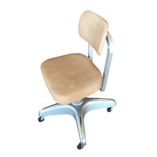 Cole-Steel Retro Swivel Office Chair