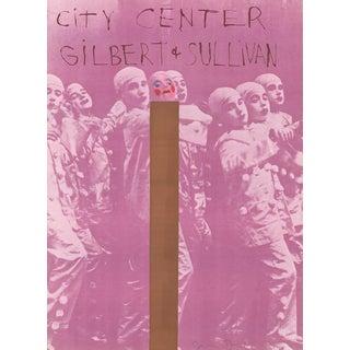 Jim Dine Gilbert And Sullivan Signed Serigraph