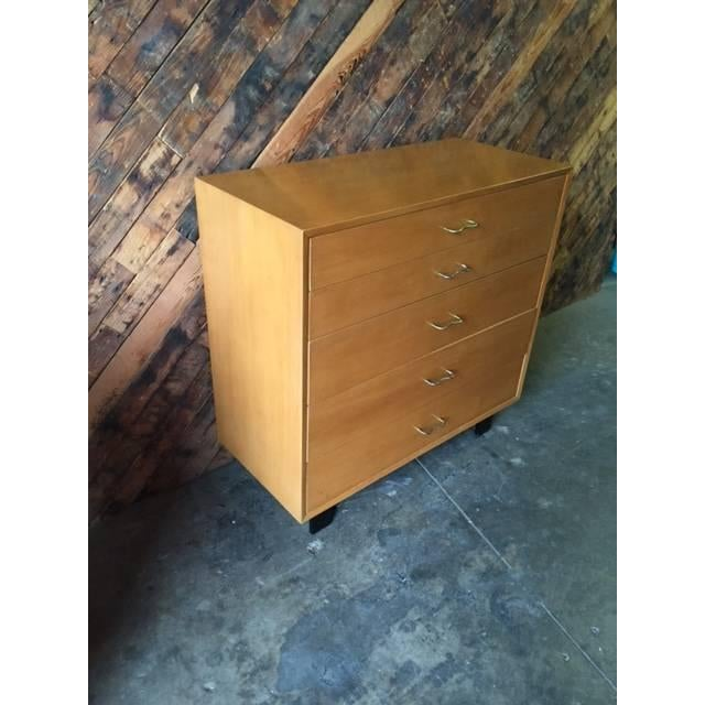 Image of Mid-Century Herman Miller Highboy Dresser
