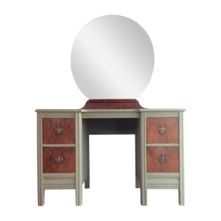 Chateau Grey Vanity With Mirror