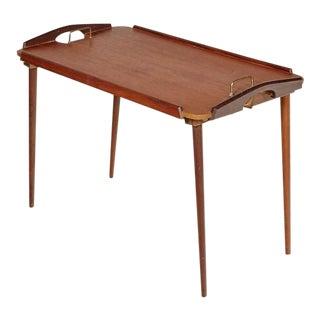 Norwegian Mid Century Folding Tray Table