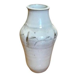 Mid-Century Signed Studio Pottery Vase