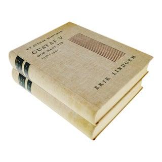 1940's NY Svensk Historia, New Swedish History of Gustaf V and Oscar II