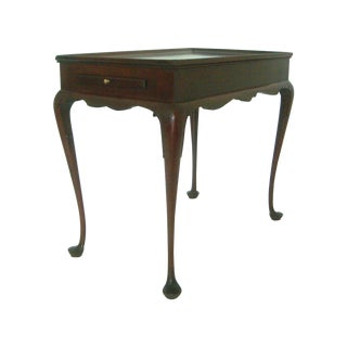 Biggs Pembroke Mahogany Side Table W/ Pull Out Leaves