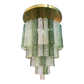 Venini Murano glass Vintage flush mount light