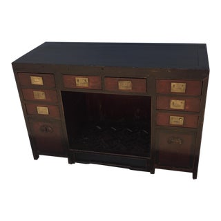 Chinese Art Deco Desk