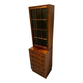Mid-Century Designer Torbjorn Afdal, Rosewood Curio, Chest of Drawers, Bruskbo, Modell Norway Mellemstrands A-1