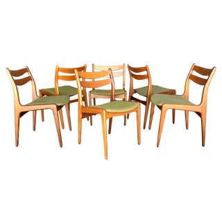 Mid-Century Danish Modern Teak Dining Chairs - S/6