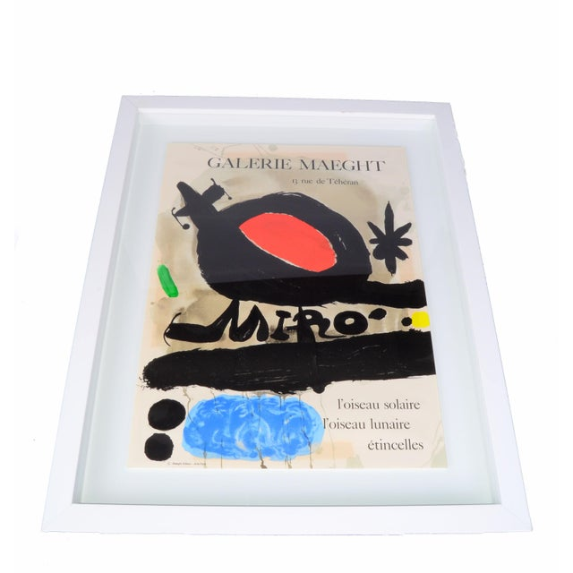 Joan Miró Lithograph Poster By Galerie Maeght - Image 11 of 11