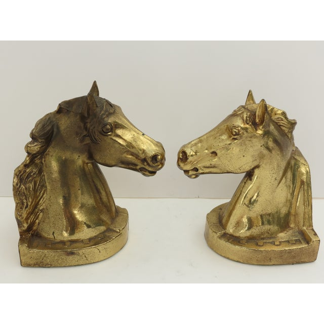 Image of Horse Head Bookends- A Pair