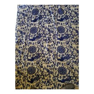 Cotton Velvet Orientalist Design Fabric, 3yds