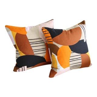 Marimekko Britta Maj Throw Pillows - A Pair