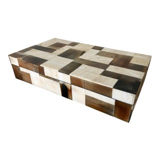 Jewelry Box Mosaic Bone Marketry