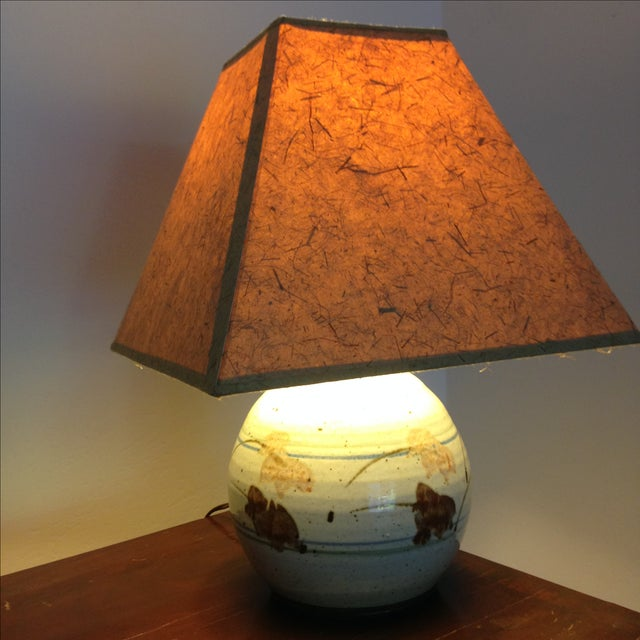 Mid-Century Modern Ceramic Lamp - Image 8 of 8