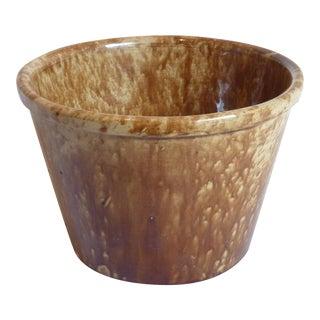 19th C. American Spatterware Cachepot