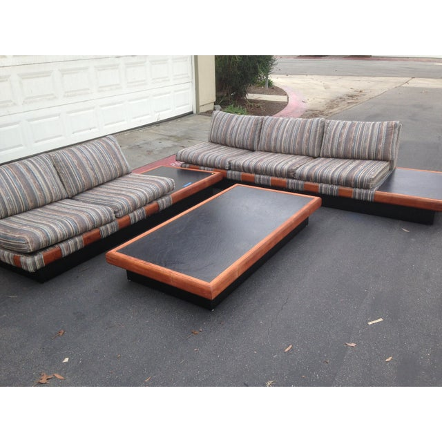 1960s Adrian Pearsall Platform Sofa and Table Set - Image 2 of 10