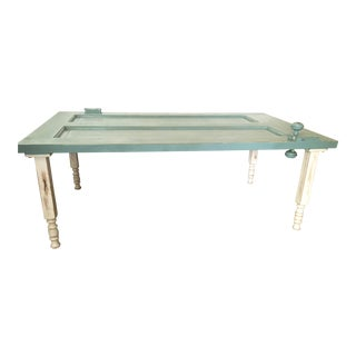 Salvage Door Coffee Table