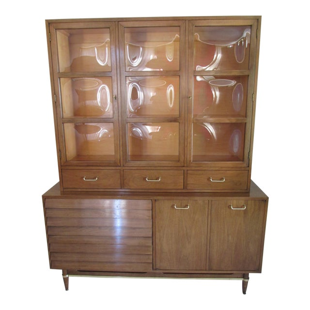 Mid-Century Modern China Cabinet by American of Martinsville - Image 1 of 11