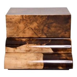 Goatskin Bed Side Table