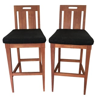 Sutherland by John Hutton Bar Chairs - A Pair