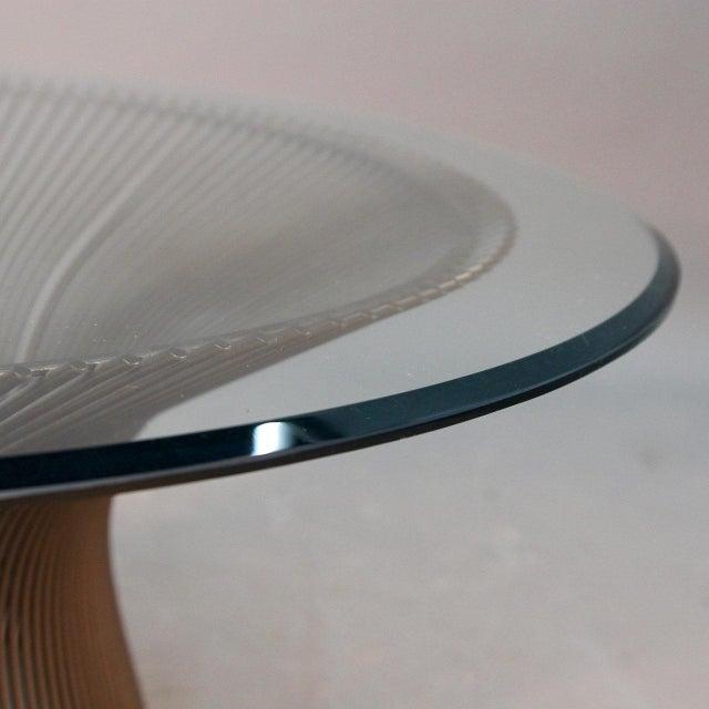 Warren Platner Original Bronze Coffee Table - Image 4 of 8