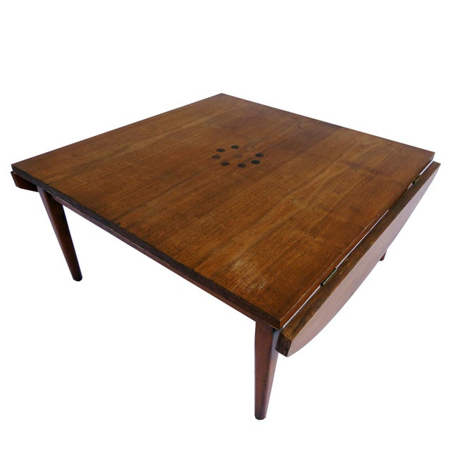 Vintage Drexel Walnut Coffee Table Chairish