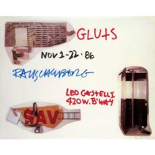 Robert Rauschenberg, Gluts, 1986 Poster