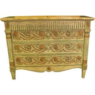 John Widdicomb Faux Marble Finish Dresser