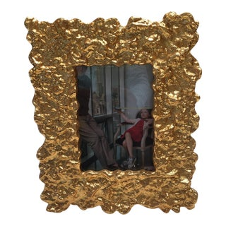 Contemporary Gold Picture Frame