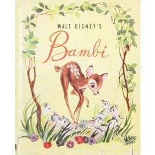 Vintage Bambi Book, 1942
