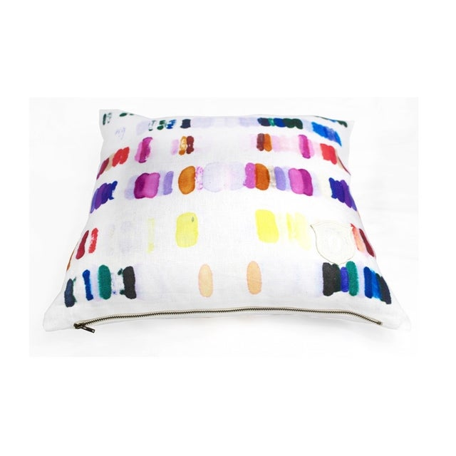 Colorful Heavenly Palette Pillow - Image 2 of 2