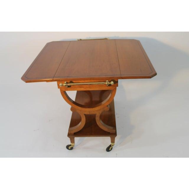 Kaplan Furniture Beacon Hill Serving Cart - Image 5 of 5