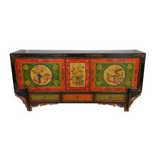 Antique Hand-Painted Gansu Sideboard