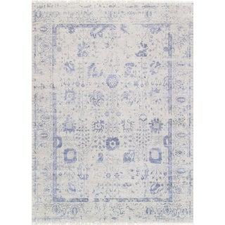 "Pasargad Transitiona Silk & Wool Rug - 9'10"" X 13' 7"""