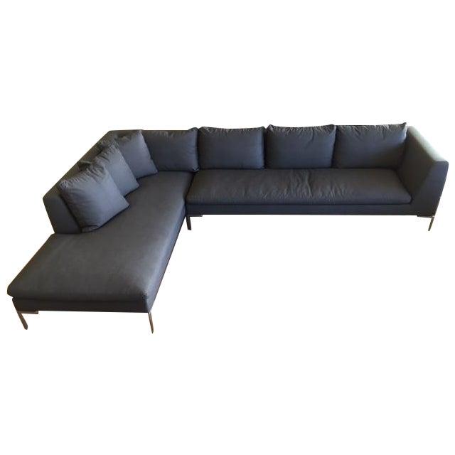 B B Italia Charles Sectional Sofa Chairish