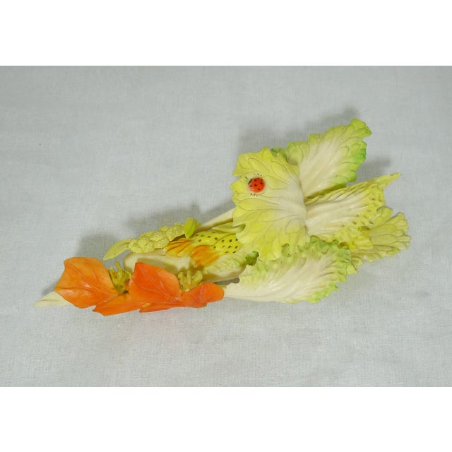 Image of Antique Chinese Lettuce Bisque Porcelain Piece