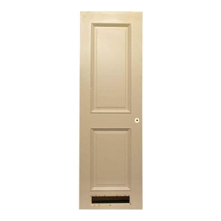 Two-Panel Beige Door