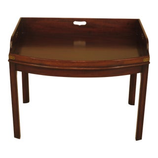 Kittinger Wa-1042 Colonial Williamsburg Mahogany Coffee Table