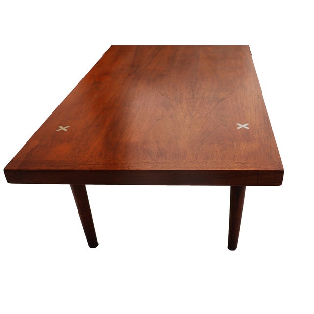 American of Martinsville Walnut Coffee Table - Image 6 of 6
