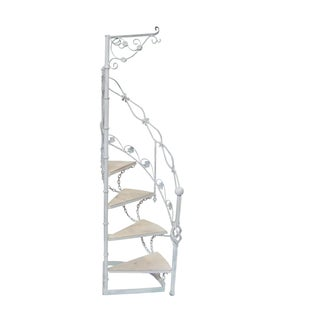 Wrought Iron Garden Staircase Planter Display