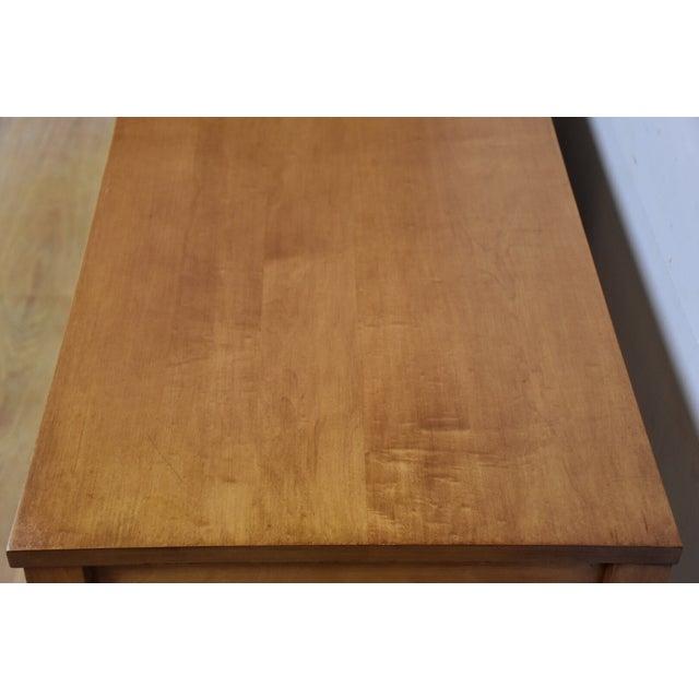 Paul McCobb Planner Group Maple Desk - Image 7 of 10