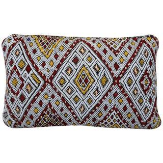 Striking Motif Moroccan Berber Pillow