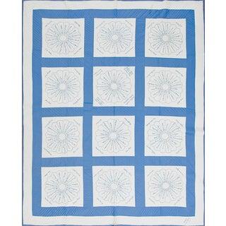 Cotton Floral Voile Quilt