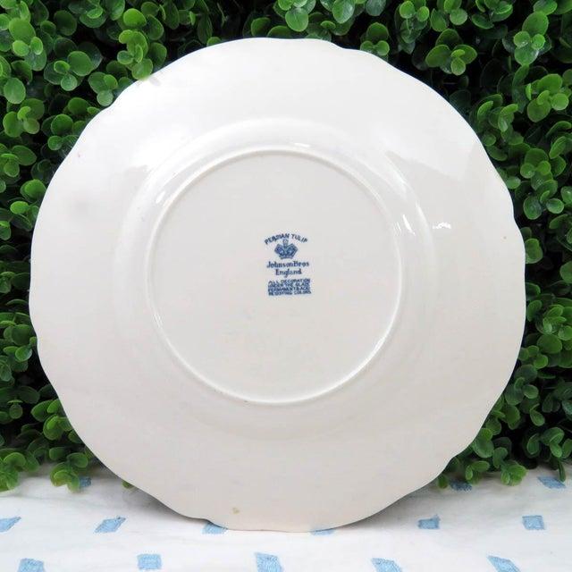 Vintage Mismatched Ironstone Dinner Plates - Set of 4 - Image 10 of 11