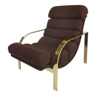 Baughman Style Mid-Century Lounge Chair