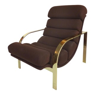 Baughman Style Mid-Century Lounge Chair